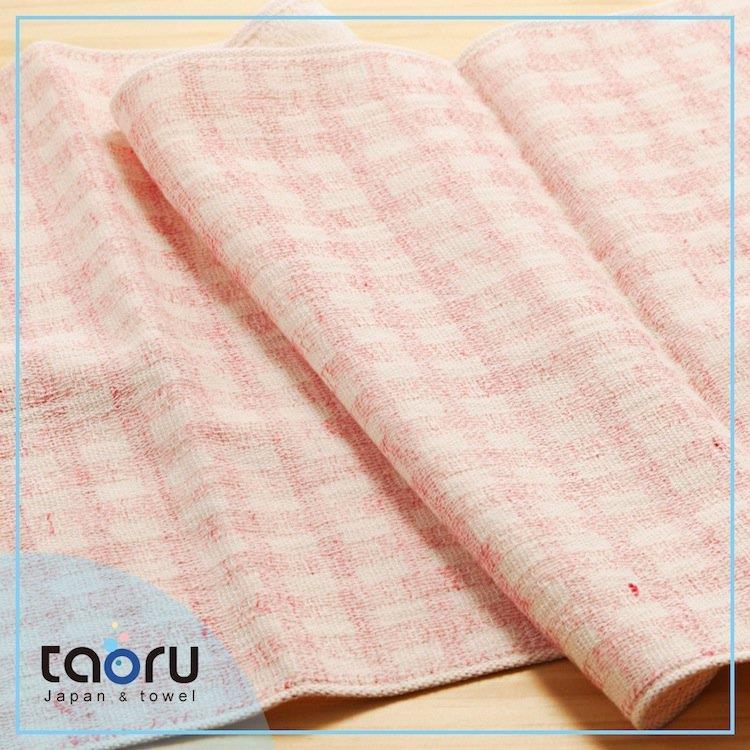 taoru【日本今治毛巾/ 浴巾】彩虹格格_粉紅