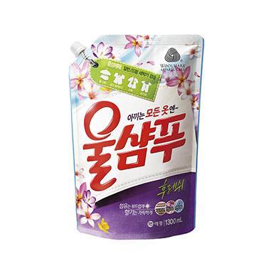 【韓國AK】精緻衣物洗衣精(持久花香型) 1.3L