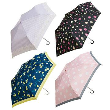 Rilakkuma拉拉熊彎把折疊短傘。4款可選