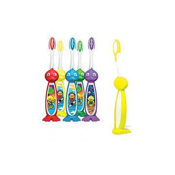 【加拿大美適Maxill】iPana兒童牙刷-立體鴨子造型(4入)