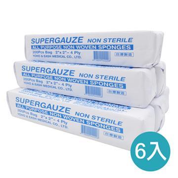 【虎兒寶】Roaze柔仕 乾濕兩用嬰兒小方巾 (拋棄式) 200片/包 -6入組