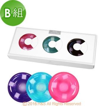 愛草皂甜甜圈酵素美容皂3入禮盒B組