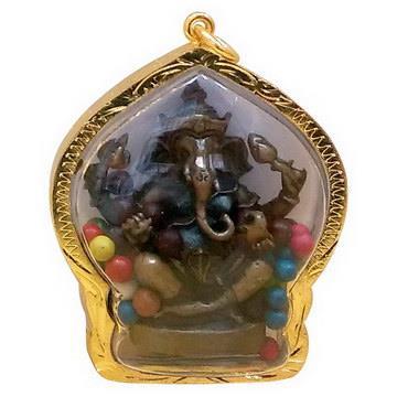 【十相自在】6.3公分 小佛像/法像 甘露佛龕掛墜吊飾(象鼻神)