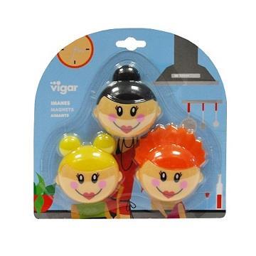 維宜卡Vigar俏麗娃娃磁力貼
