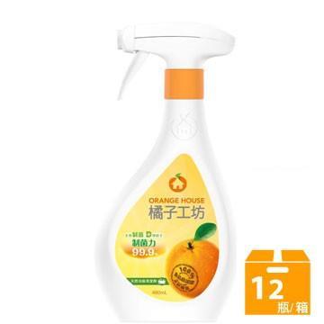 橘子工坊天然制菌活力浴廁清潔劑480mlx12瓶/箱