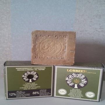 Lorbeer 阿勒坡 月桂葉橄欖手工皂20%(一入)