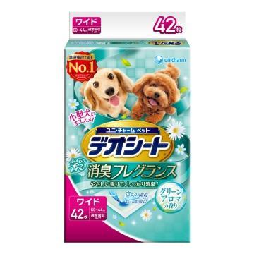 日本Unicharm消臭大師 森林香狗尿墊(LL)(42片/包)