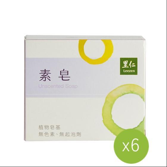 【里仁】素皂(6入組)##6