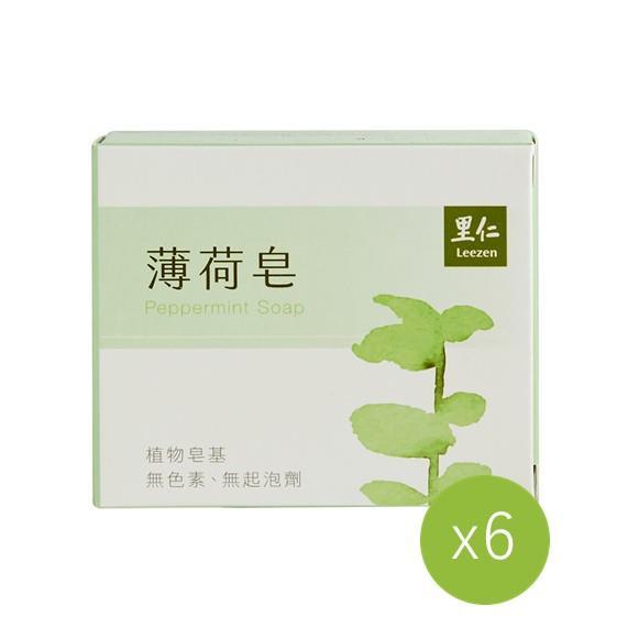 【里仁】薄荷皂(6入組)##6