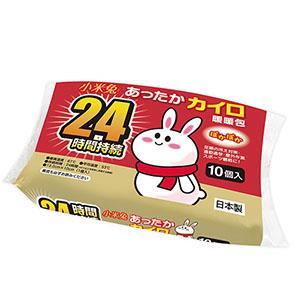 小米兔暖暖包10入/包_手握式(日本製)--有效期限2022.8.6