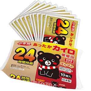 小本熊手握式暖暖包10入/包(日本製)--有效期限2022.10.24