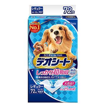 日本Unicharm 消臭大師 超吸收狗尿墊(M)(72片)