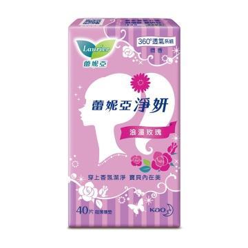 蕾妮亞 淨妍護墊 浪漫玫瑰微香40片