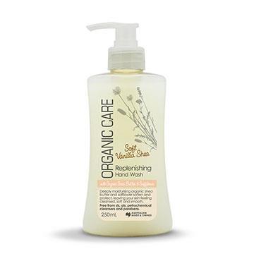 【澳洲Natures Organics】植粹溫和滋養洗手乳(香草牛油果)250ml