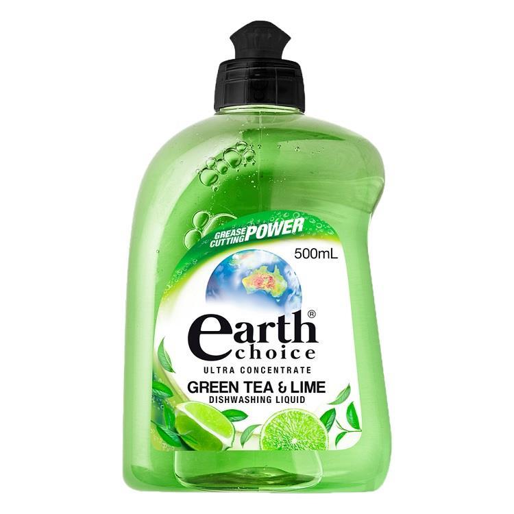 【澳洲Natures Organics】植粹濃縮洗碗精(綠茶萊姆)500ml