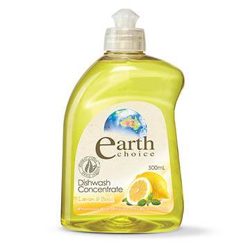 【澳洲Natures Organics】植粹濃縮洗碗精(檸檬羅勒)500ml