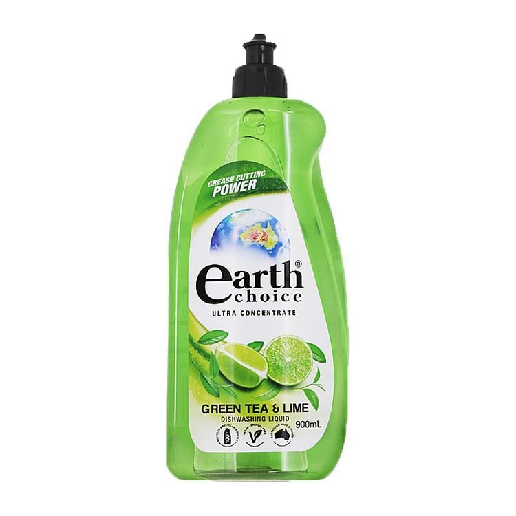 【澳洲Natures Organics】植粹濃縮洗碗精(綠茶萊姆)900ml