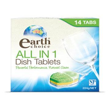 【澳洲Natures Organics】植粹濃縮洗碗片(洗碗機專用)14入