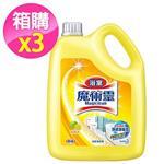 魔術靈 浴室清潔劑 桶裝-檸檬香 (3800mlx3入)