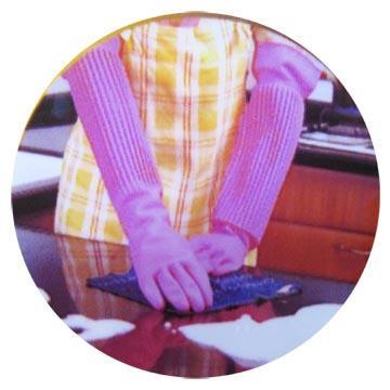 家庭用天然乳膠手套-加長型18-12雙入