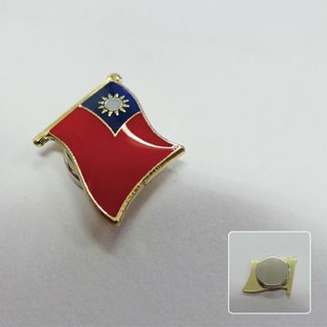 【國旗商品創意館】吸鐵式-台灣徽章10入組/中華民國/Taiwan