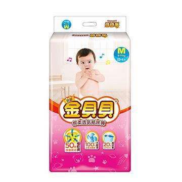 頂級金貝貝紙尿褲 M (56片x4包/箱)