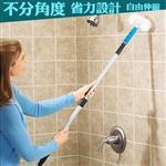 金德恩 台灣製 多功能無死角伸縮浴室清潔刷