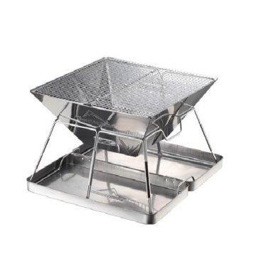 韓式多功能不銹鋼加厚款燒烤爐、營火炊事/焚火台
