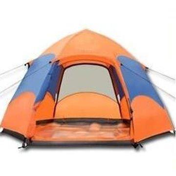 3秒速開自動320cm六角雙層帳篷,全罩式抗UV防雙層雨帳篷 (5-8人)