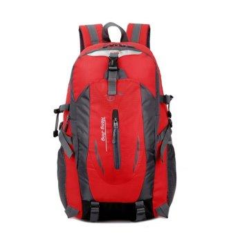 空氣懸浮背負系統,減壓輕負-40L防水防刮登山、健行旅行背包