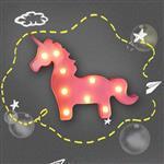 大力女造型LED小夜燈-粉紅獨角獸