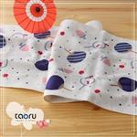 [日本居家長毛巾] 夏祭典 34 x 90 cm (和的風物詩系列 -- taoru 日本毛巾)