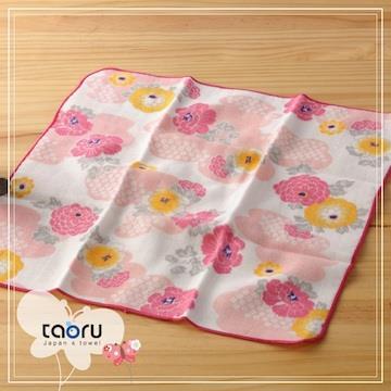 taoru【日本暢銷小手巾】和的風物詩_花霞
