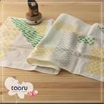 [日本居家長毛巾] 福來貓頭鷹 34 x 90 cm (和的風物詩系列 -- taoru 日本毛巾)
