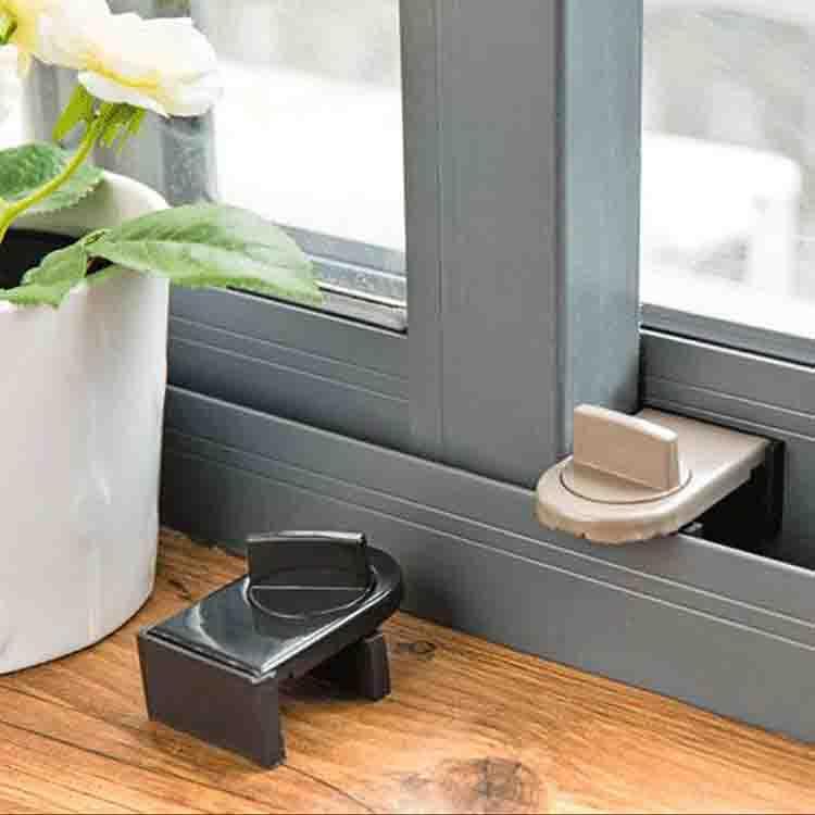 可調式窗戶防盜安全鎖