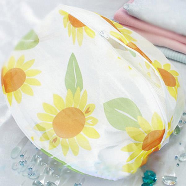 花漾細網洗衣袋丸型-35cm - 12入