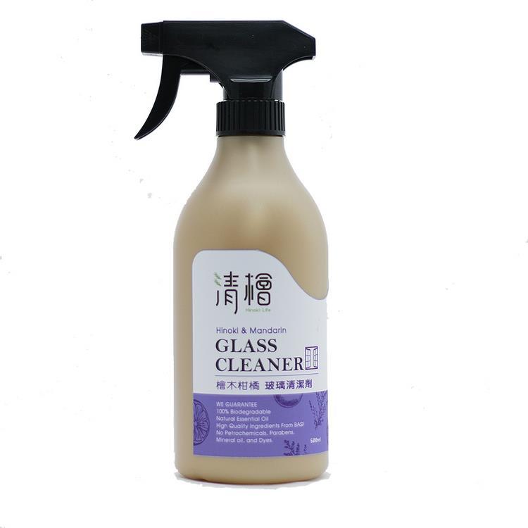 【清檜】檜木柑橘玻璃清潔劑(500ml/瓶)