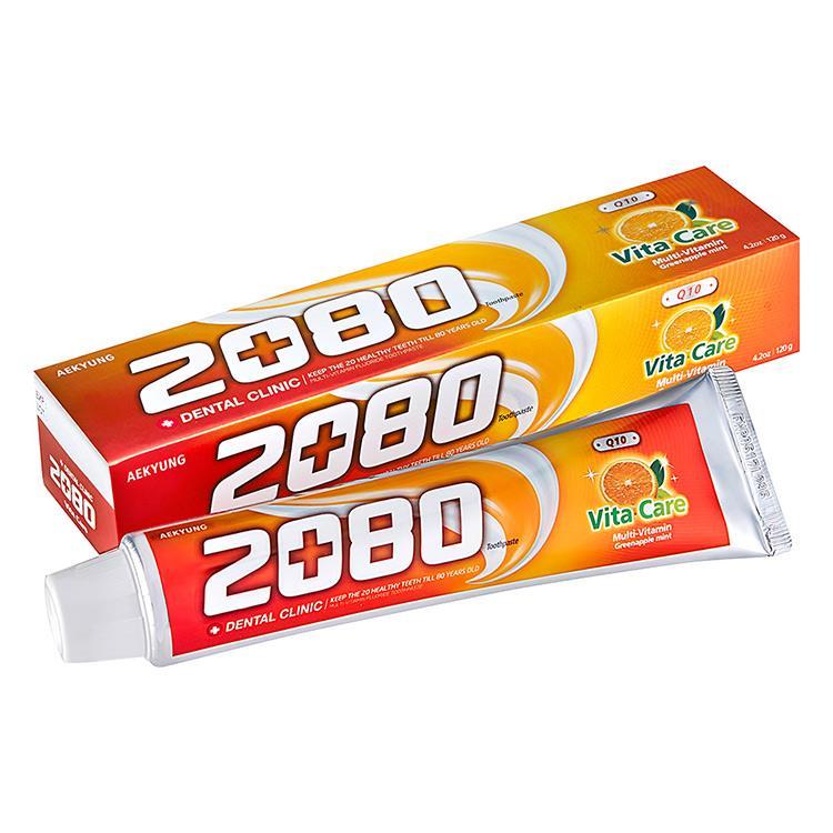 【韓國2080】Q10維他命牙膏(120g)