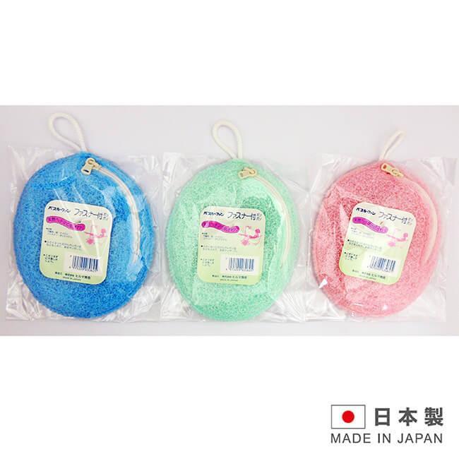 日本製造 拉鍊式澡包(粉/綠/藍 隨機出貨) SAN-30625