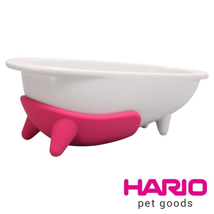 HARIO 長嘴犬粉紅專用磁碗  PTSC-LPC