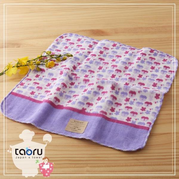taoru【日本好漾小手巾】町娘物語_紫羅蘭