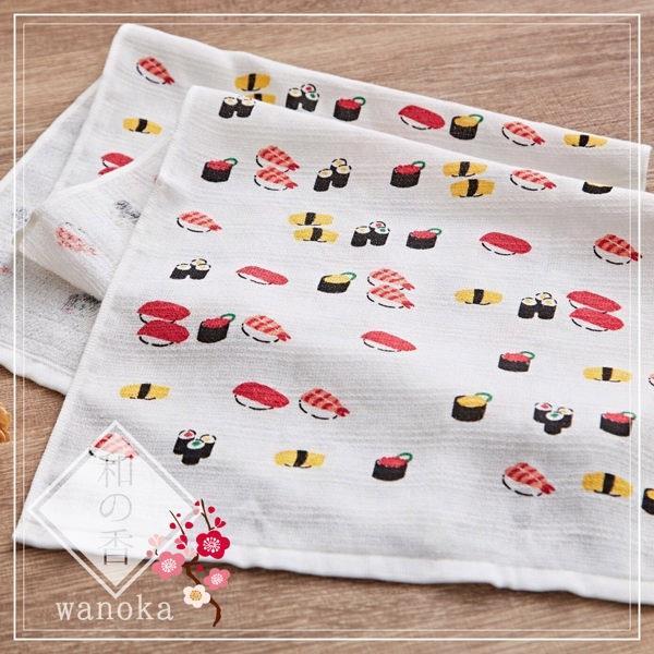 taoru【日本風呂泡湯毛巾/加長版】和之香_握壽司