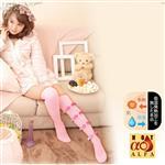 日本SUNFAMILY  發熱著壓美腿襪(粉紅色)
