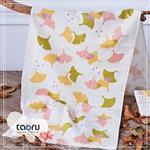 [日本居家長毛巾] 秋色銀杏 34 x 90 cm (和的風物詩系列 -- taoru 日本毛巾)