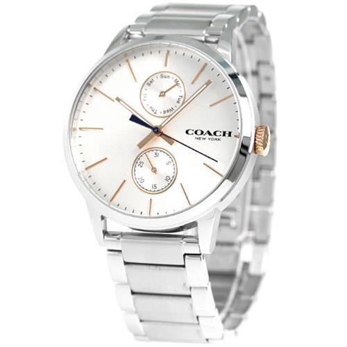 COACH 經典動人紳仕不銹鋼腕錶 (現貨+預購)