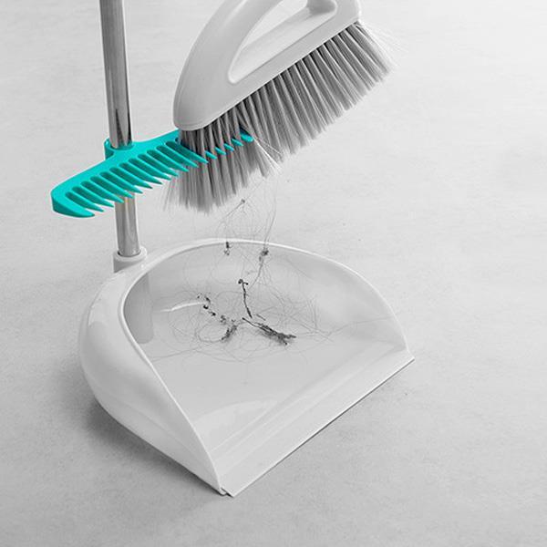 DIY家用便捷掃把除塵刷(白色)