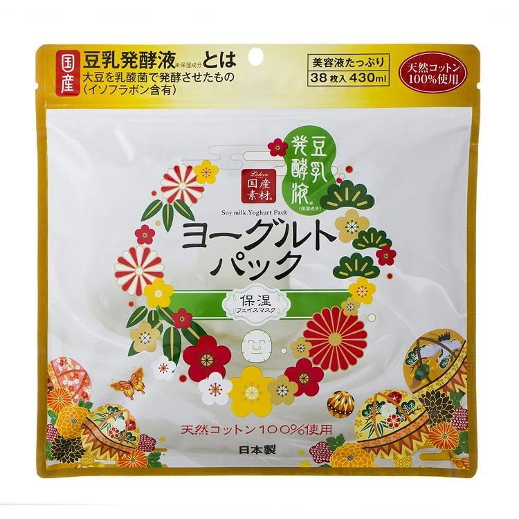 日本LISHAN豆乳保濕抗皺面膜(38片)