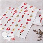 taoru【日本居家長毛巾】和的風物詩_過新年