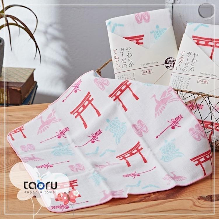 taoru【日本暢銷小手巾】和的風物詩_正月參拜