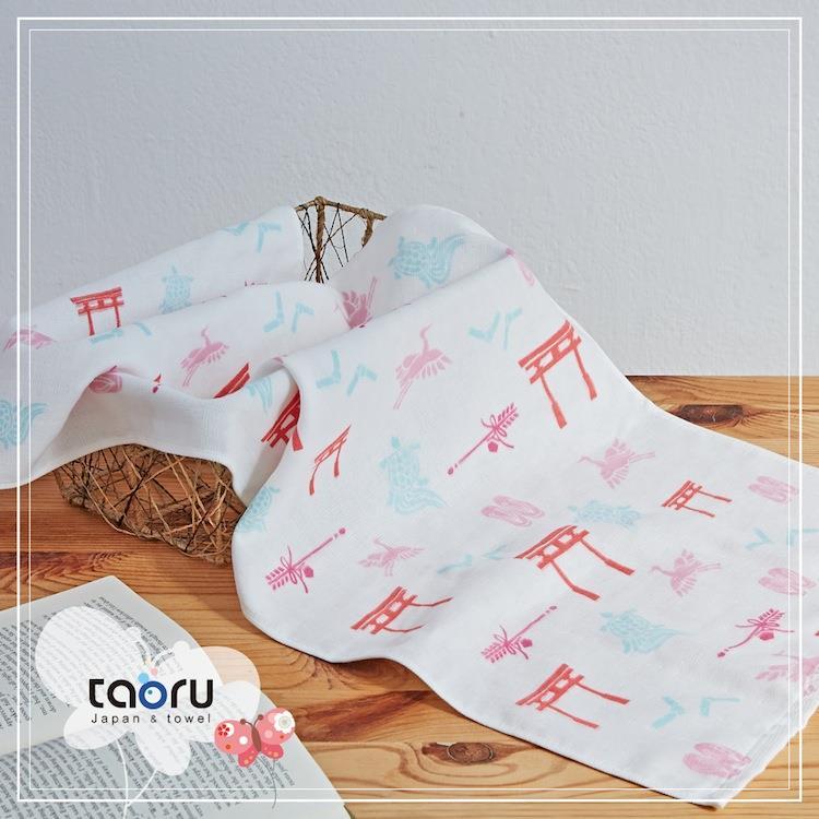 taoru【日本居家長毛巾】和的風物詩_正月參拜